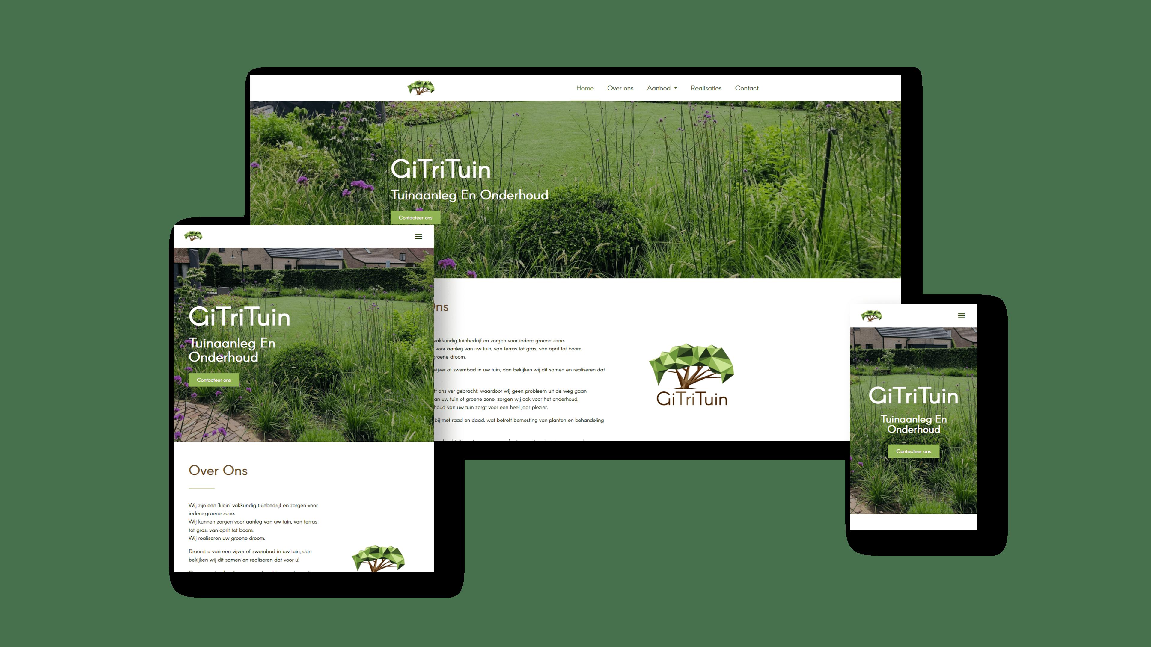 Website GiTriTuin