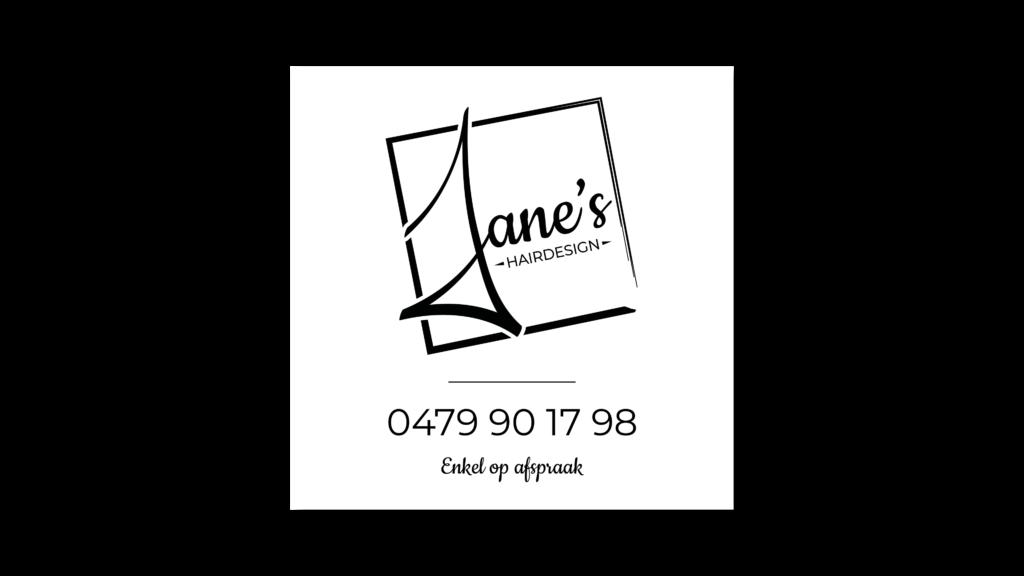 Stoepbord Jane's Hairdesign