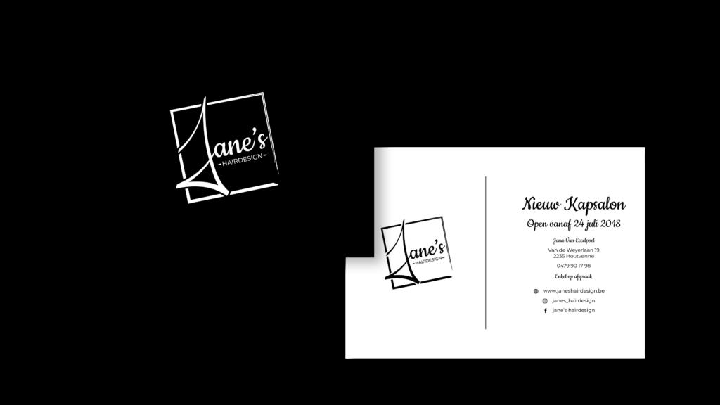 Flyer Jane's Hairdesign