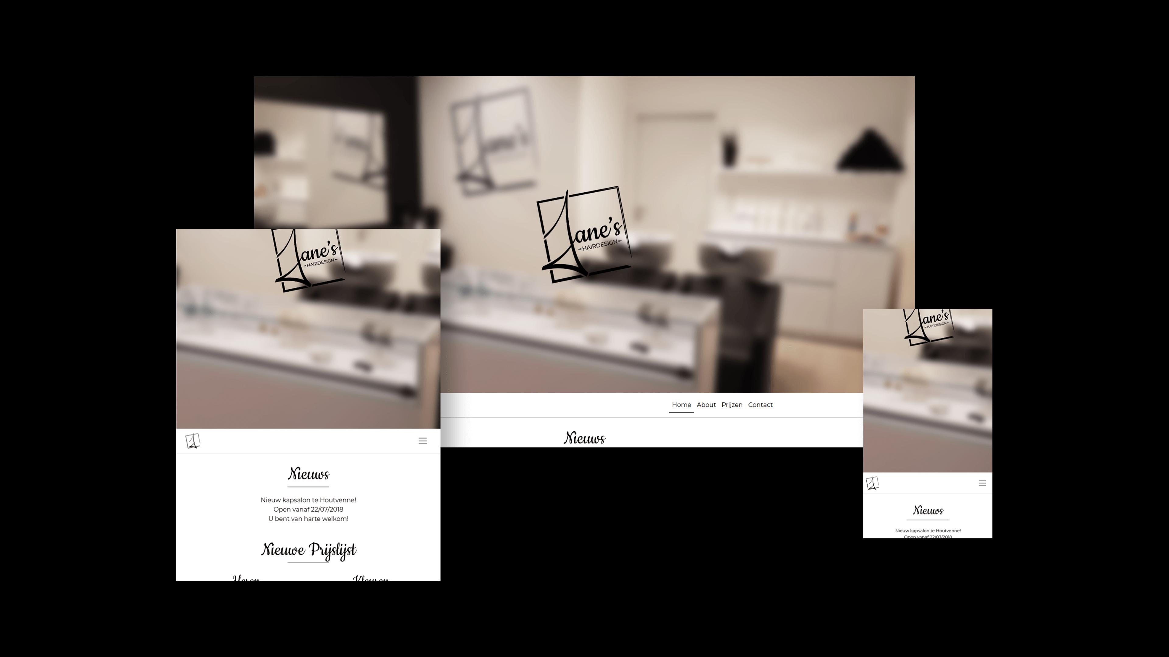 Website Jane's Hairdesign