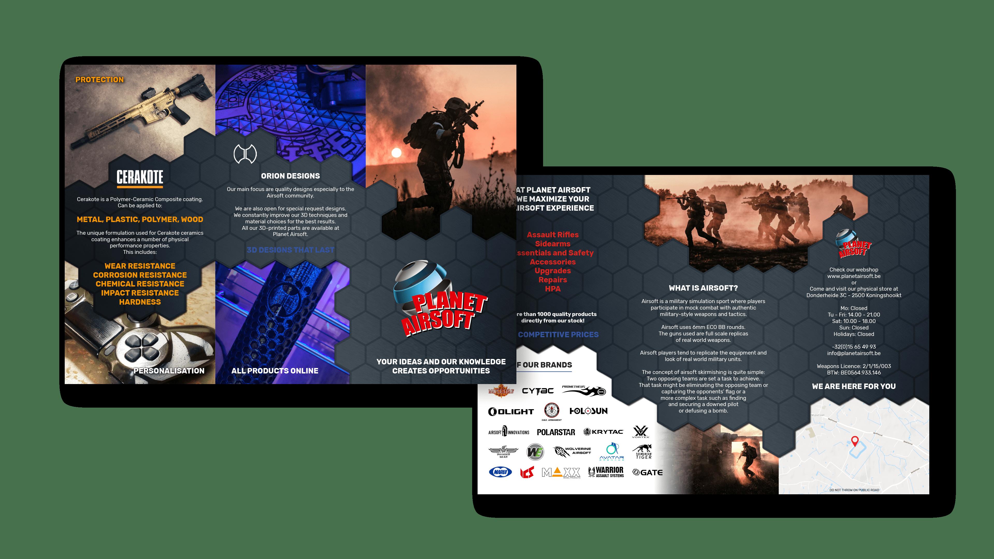 Folder Planet Airsoft