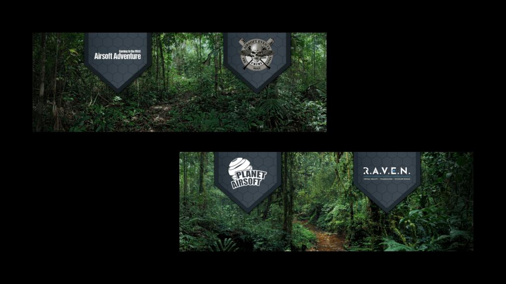 Banner GameForce Planet Airsoft