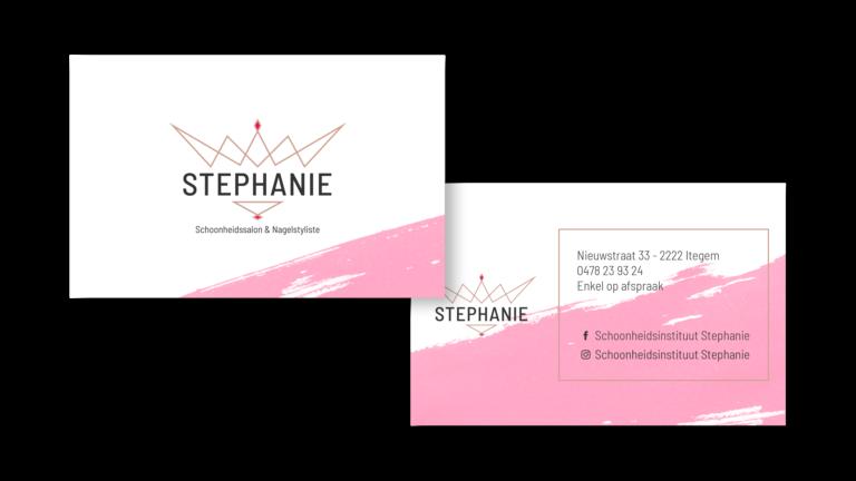 Visitekaartje Stephanie
